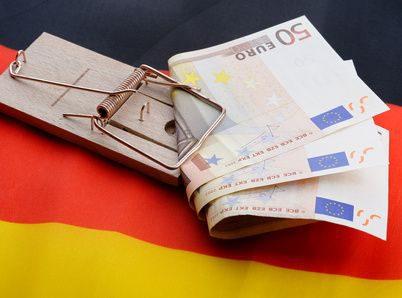mausefalle mit deutschland flagge 2