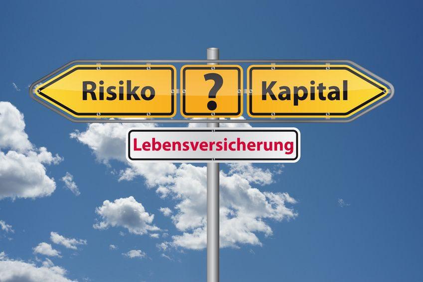 Risiko- oder Kapitallebensversicherung?