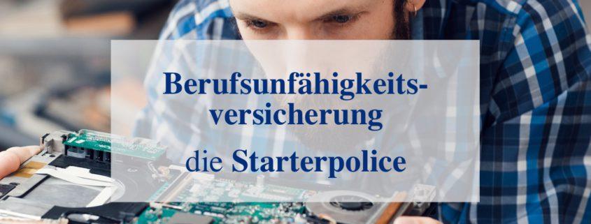 Die BU Starterpolice