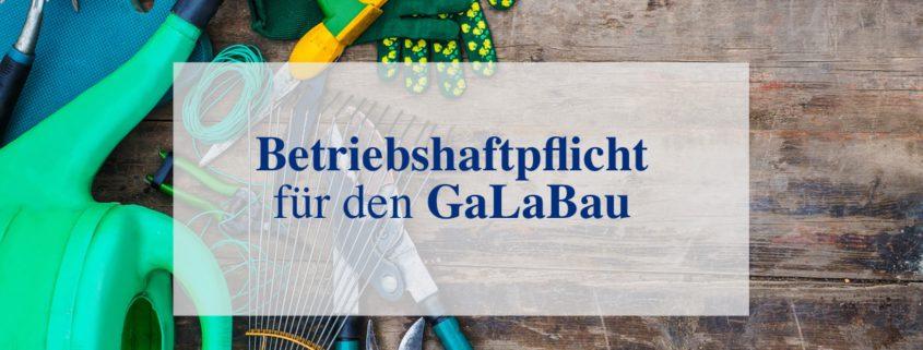 Versicherung GalaBau