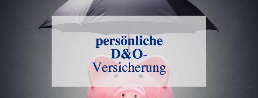 D&O Versicherung Persönlich